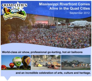 Mississippi Riverfront Comes Alive in the Quad Cities
