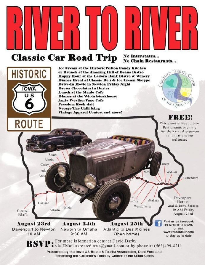 2013 River To River Classic Car Road Trip